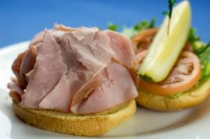 pit ham sandwich