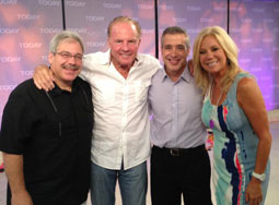 Pete & Nick with Frank & Kathie Lee Gifford