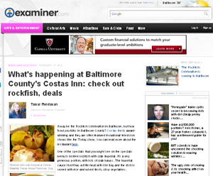 The Examiner -  Costas Inn