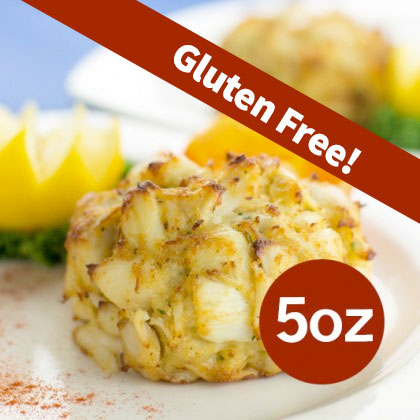 gluten-free crab cake 5oz